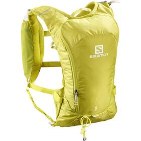 Salomon Agile 6 Set de mochila, citronelle/sulphur spring
